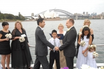 Ervan & Marcus saying vows