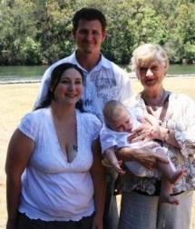 Natalie, Ryan Nicholas & me-BABY